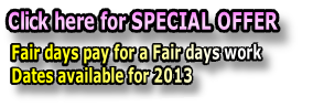 Fair days pay for a Fair days work 